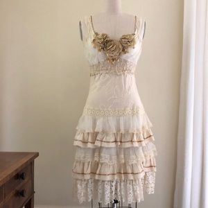 Vintage Lace Dress NWOT - 2